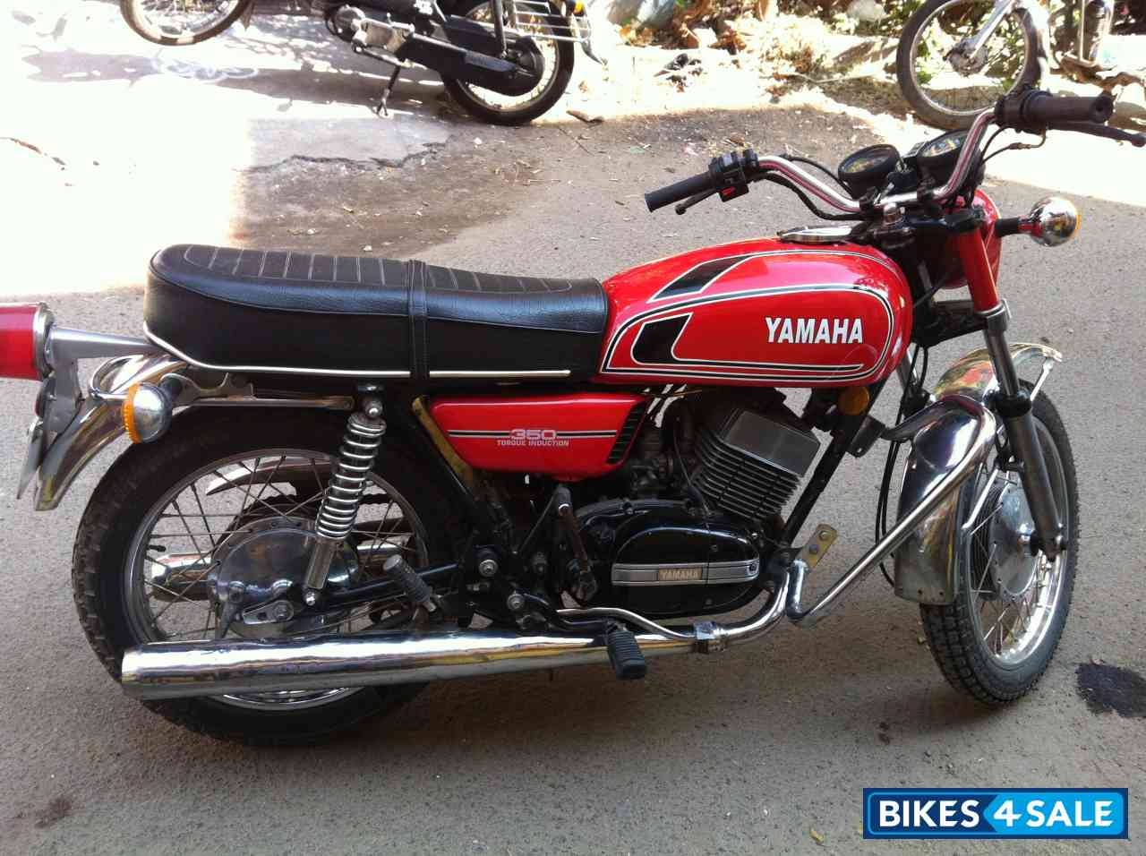 red yamaha rd 350 picture 1 album id is 101443 bike