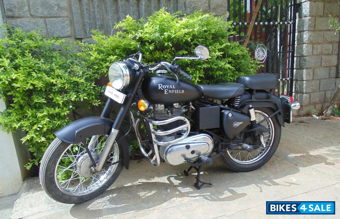 Used 1984 Model Royal Enfield Bullet Standard 350 For Sale In Bangalore Id 101681 Matte Black Colour Bikes4sale