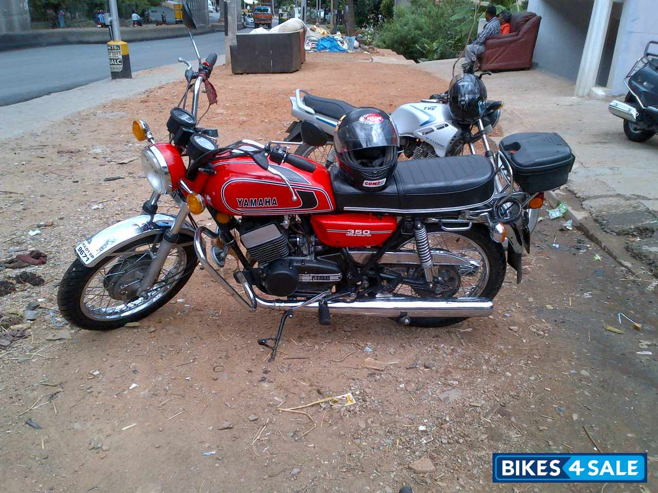 Red yamaha rd 350 picture 5 album id is 102127 bike for Yamaha 221 vs 222
