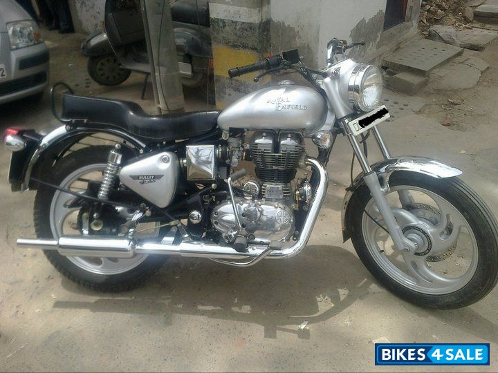silver royal enfield bullet electra picture 1 car