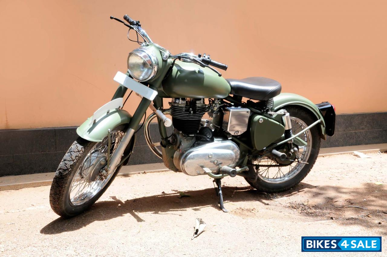 Second Hand Royal Enfield Bullet Standard 350 In Thrissur