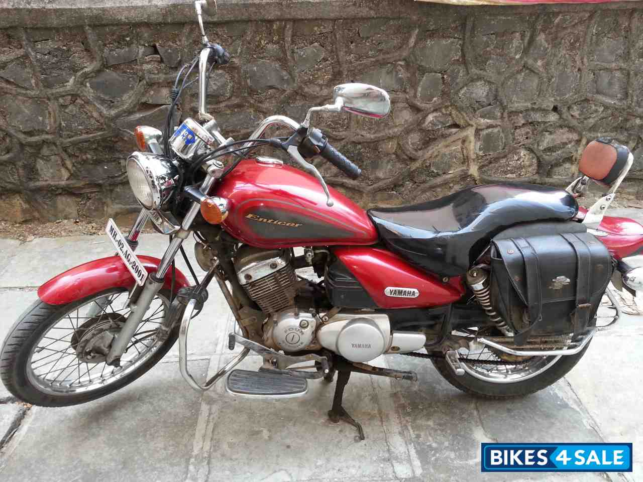 Used Yamaha Enticer For Sale In Mumbai ID 106589 Red Colour