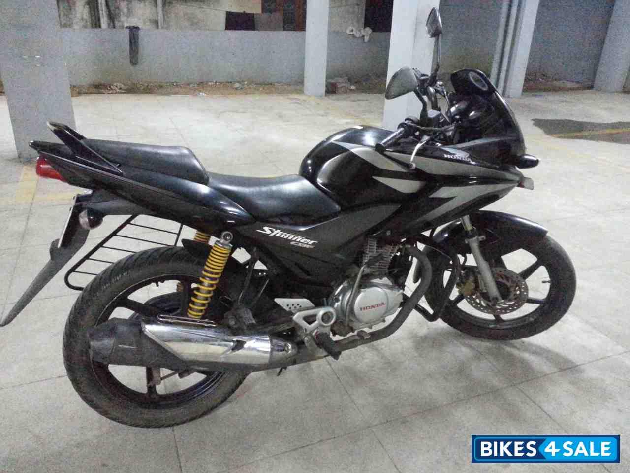 Black Honda Cbf Stunner For Sale In Chennai Model 2008