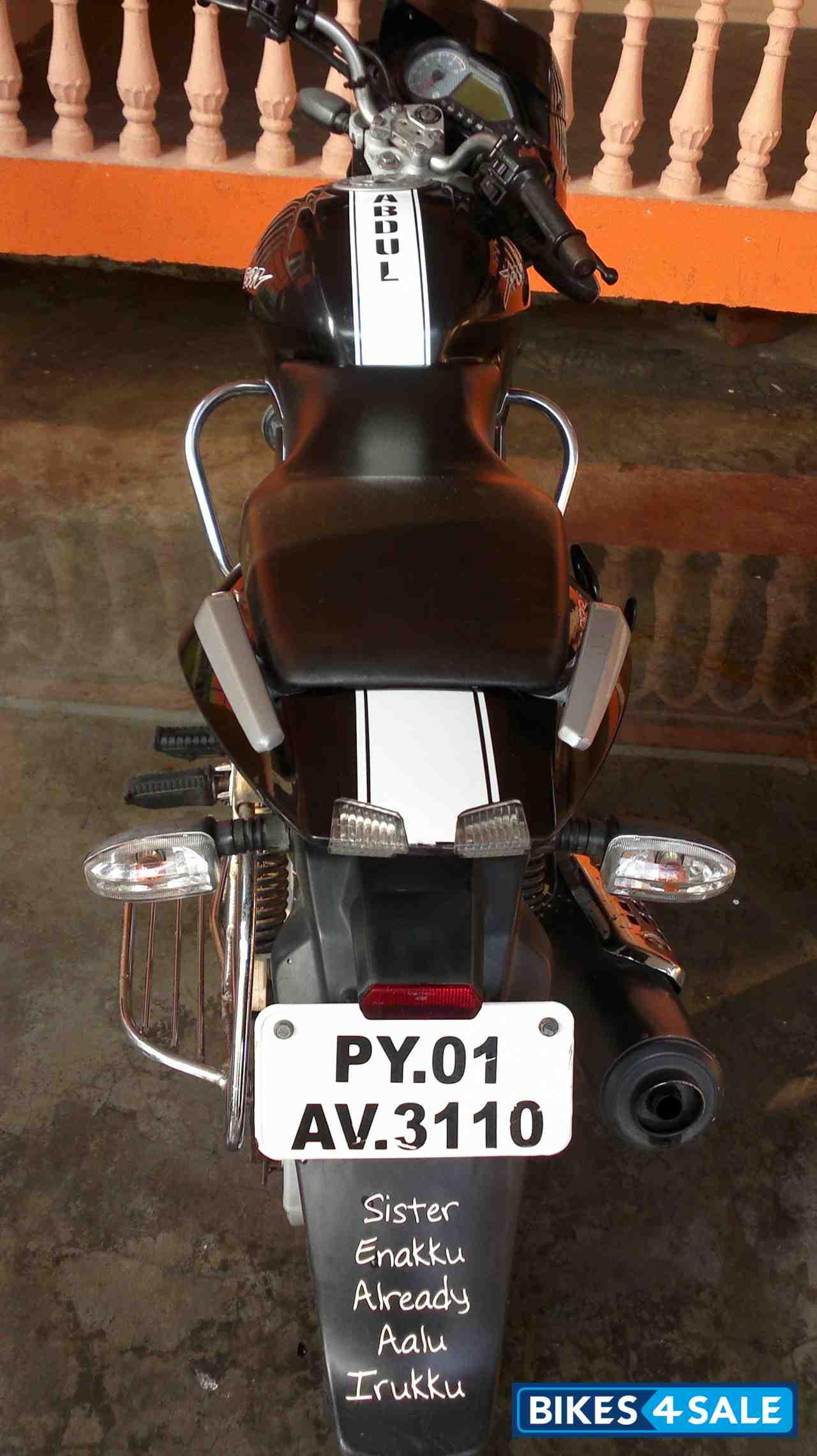 Black Bajaj Pulsar 150 Dtsi Picture 1 Bike Id 110162 Bike Located In Karaikal Bikes4sale