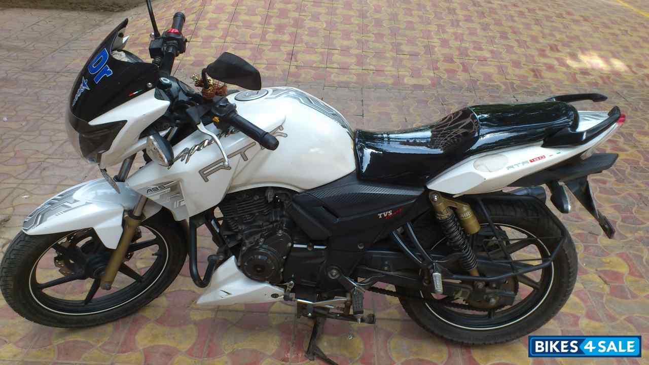 White Tvs Apache Rtr 180 Abs For Sale In Mumbai Regular