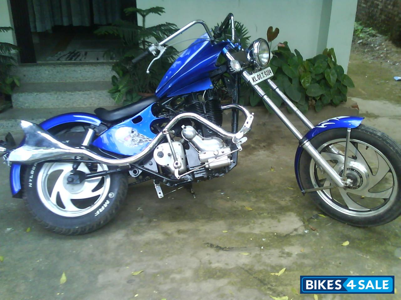 Blue Modified Bike Picture 1