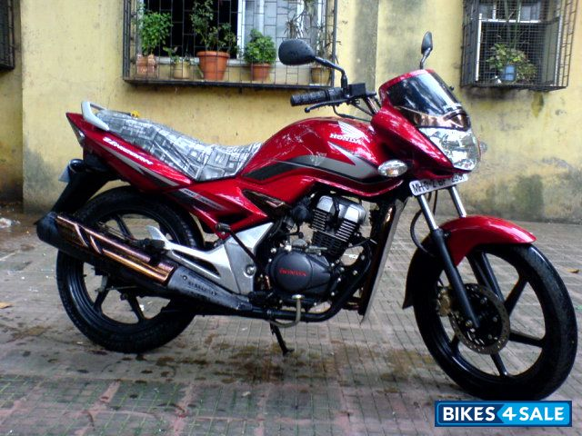 Bikes 15102 Red Honda Unicorn