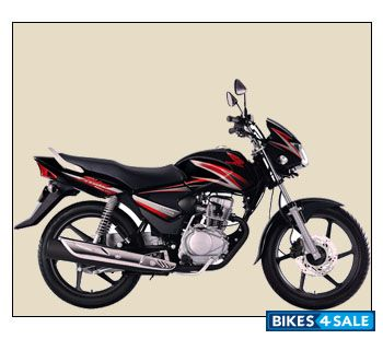 Black With Red Stripes Honda Shine Picture 1. Album ID is ...