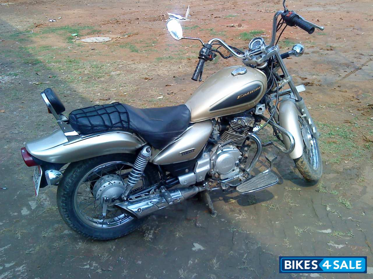 Golden Yamaha Enticer Picture 1 Bike ID 21082 Located In New
