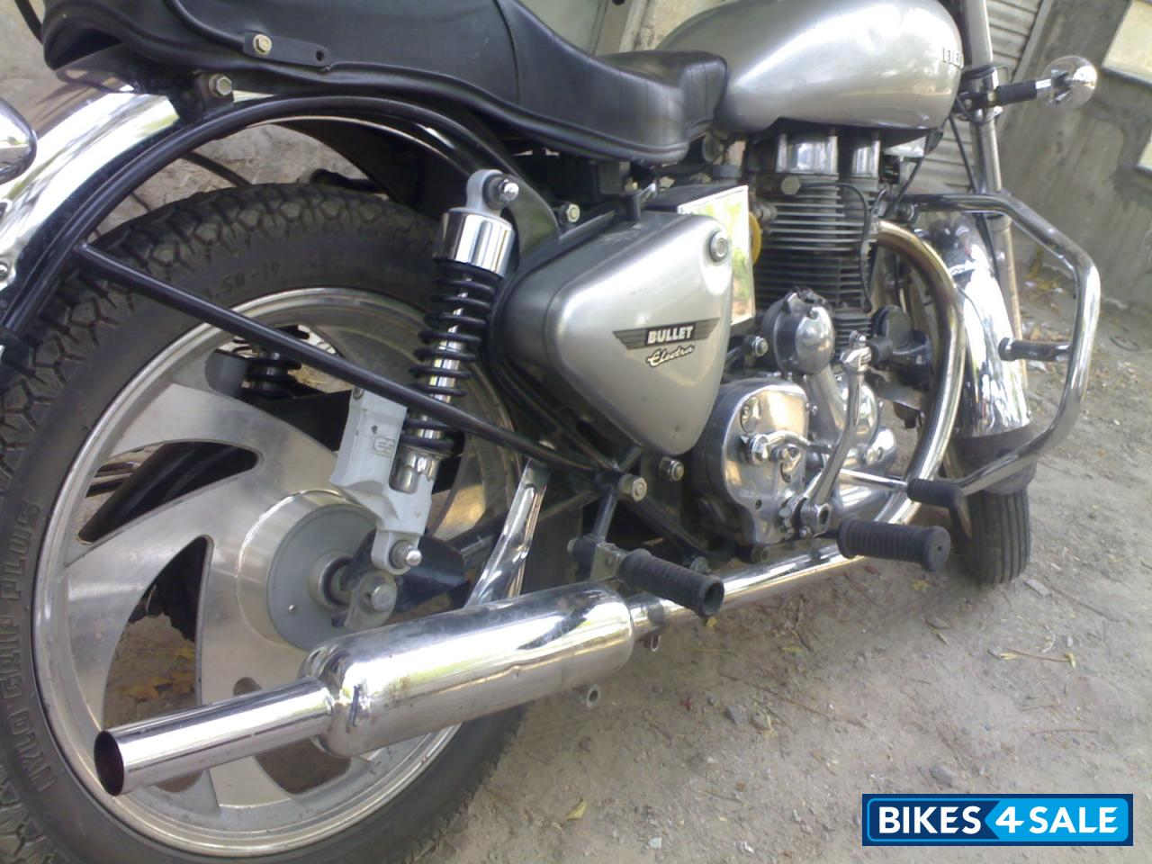 second hand royal enfield bullet electra in nagaur single
