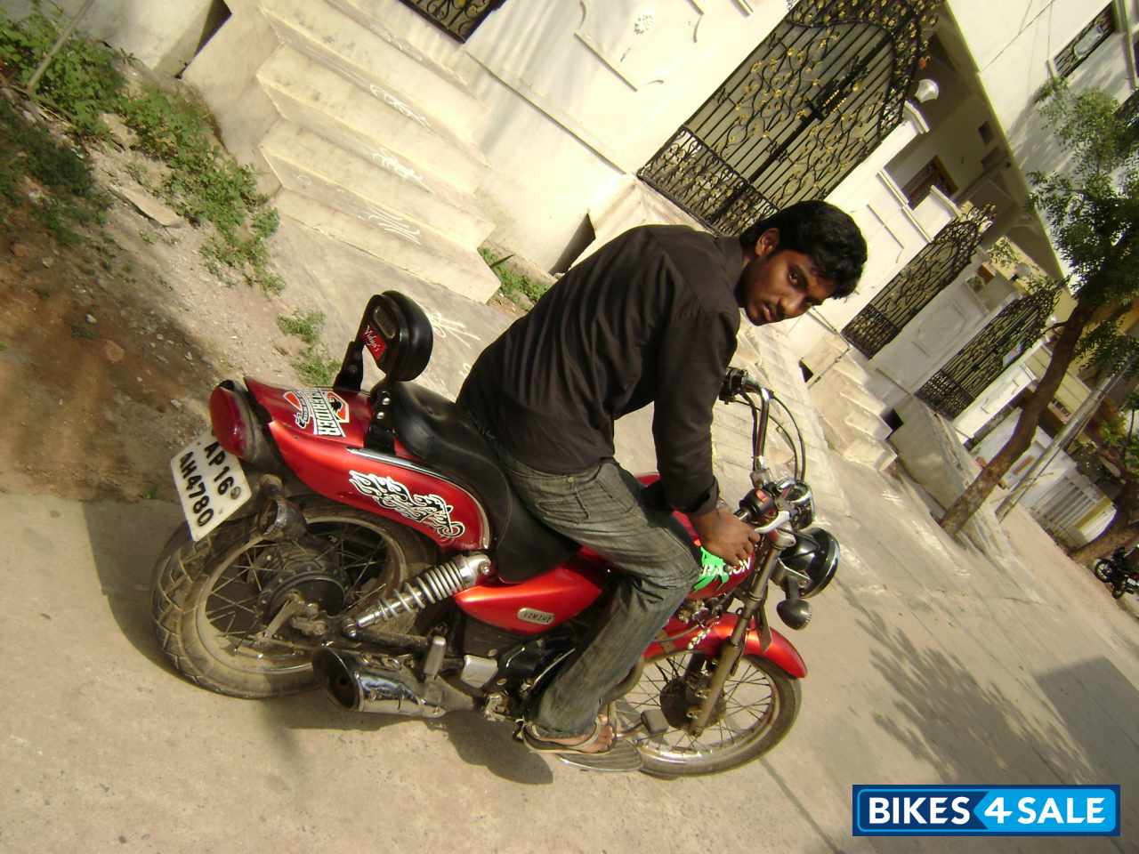 Red Yamaha Enticer Picture 4 Bike ID 24796 Located In Krishna