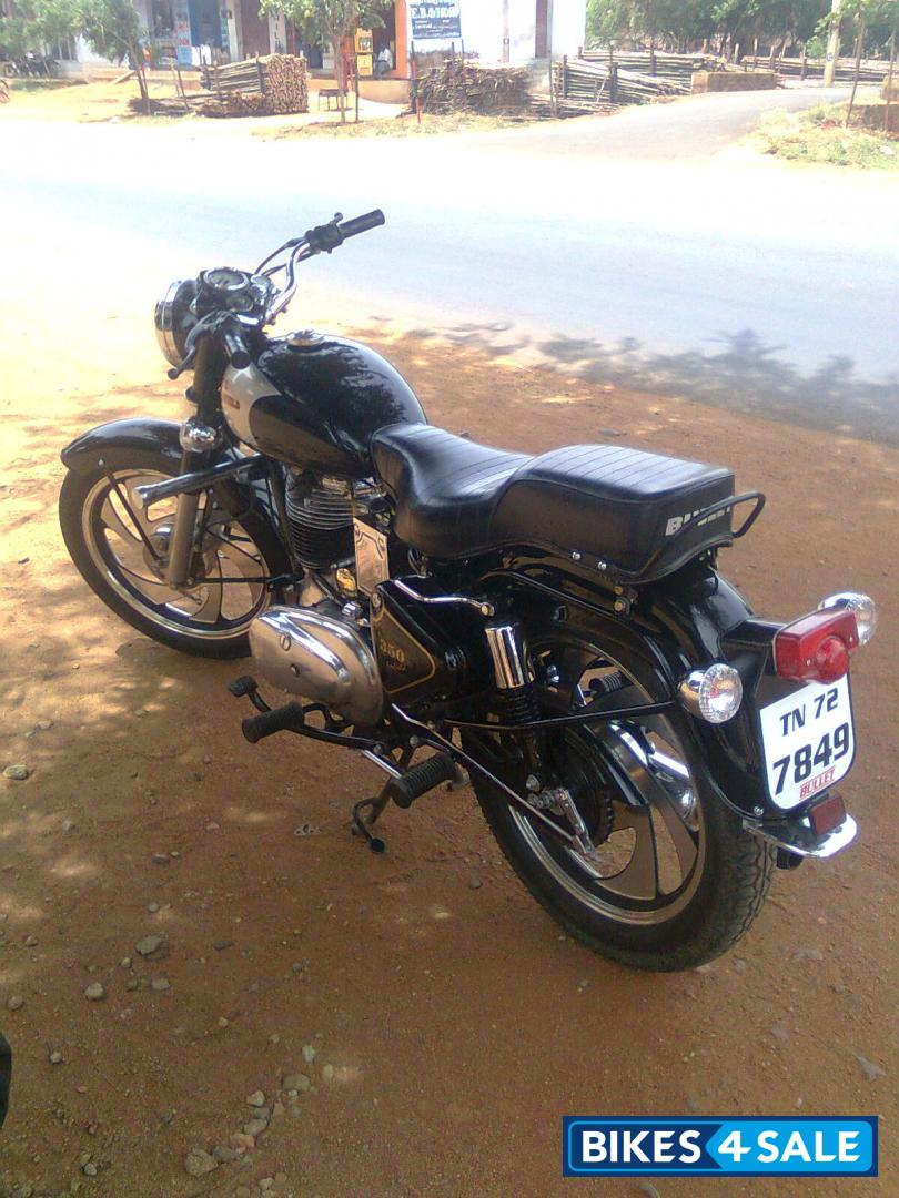 Second Hand Royal Enfield Bullet Standard 350 In Tirunelveli Black Colour Price Is Rs 76 000