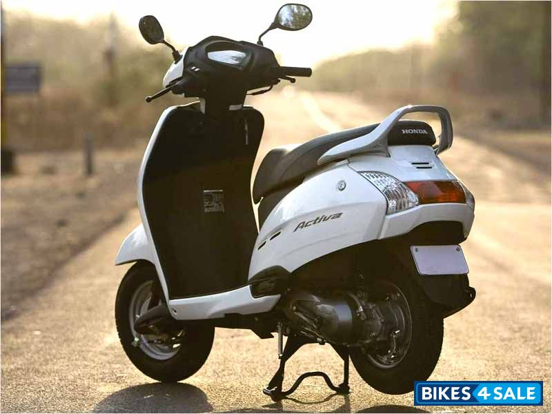 Honda 4 Wheeler Bike >> Used 2010 model Honda Activa for sale in New Delhi. ID 38766. White colour - Bikes4Sale