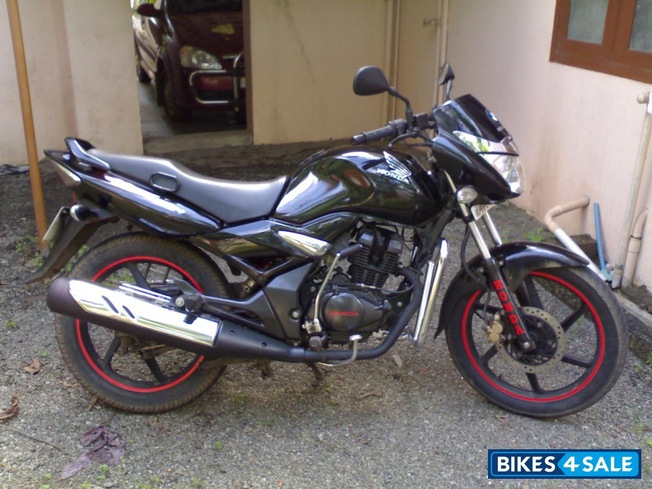 metallic black honda unicorn picture 4 bike id 38776