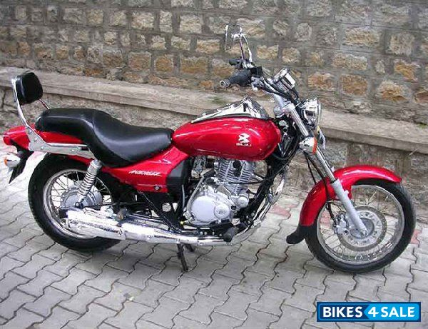 Honda 4 Wheeler Dealers Red Bajaj Avenger 220 DTS-i Picture 1. Album ID is 40959. Bike located ...