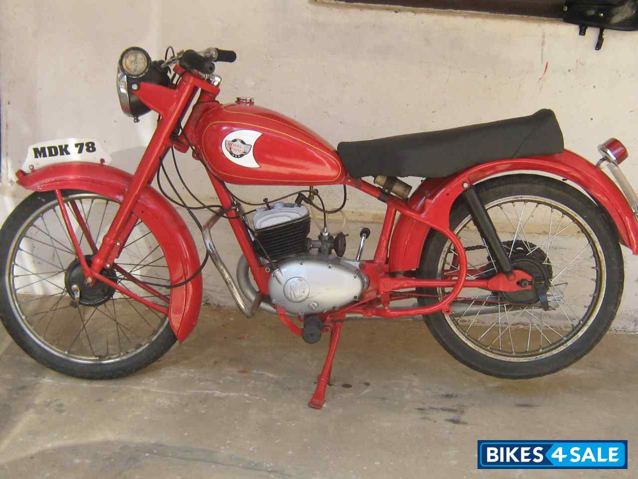 Red Vintage Bike Red Vintage Bike
