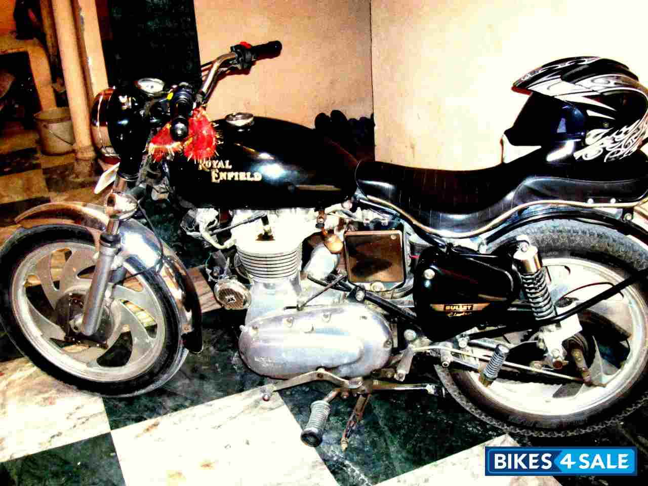 Electric Bikes For Sale >> Used 2006 model Royal Enfield Bullet Electra 5S for sale in New Delhi. ID 51577. Deep Pearl ...