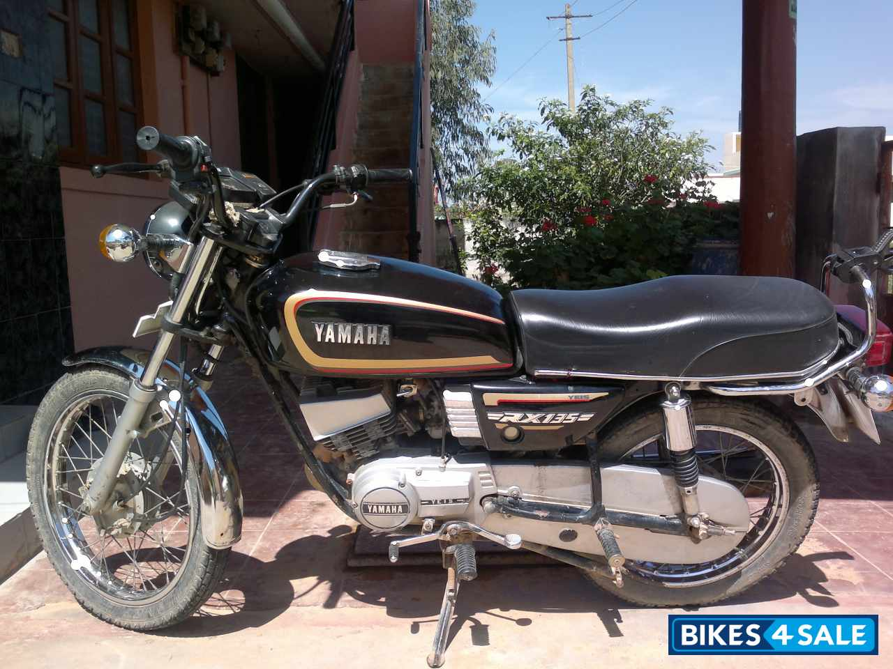 Yamaha Rx 135 Modified Black Black Yamaha RX 135 Pi...