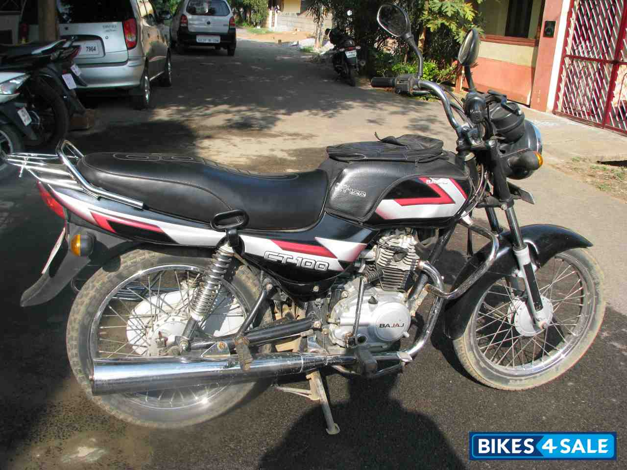 Best Value Electric Bike >> Black Bajaj CT 100 Picture 1. Bike ID 66539. Bike located ...