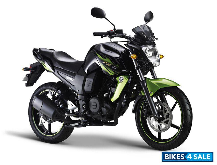 Yamaha fz Bike Green Black Cyber Green Yamaha fz s