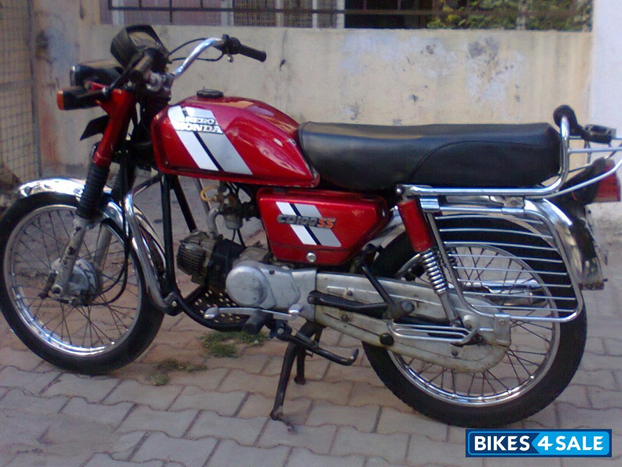 3e9b606b931 Red Hero CD 100SS Picture 1. Bike ID 69551. Bike located in ...