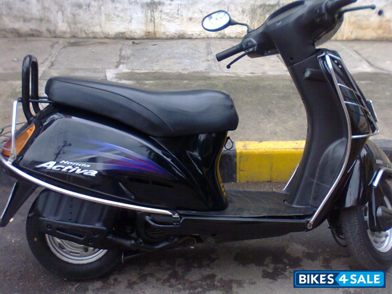 Activa in Bangalore. The honda activa 100cc black colour of 2009 model ...