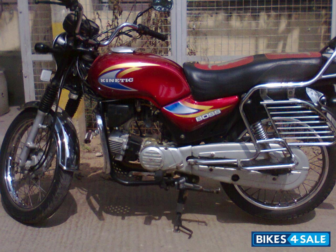 f25e4785853 Wine Red Kinetic Boss 115 Picture 1. Bike ID 70960. Bike located in ...