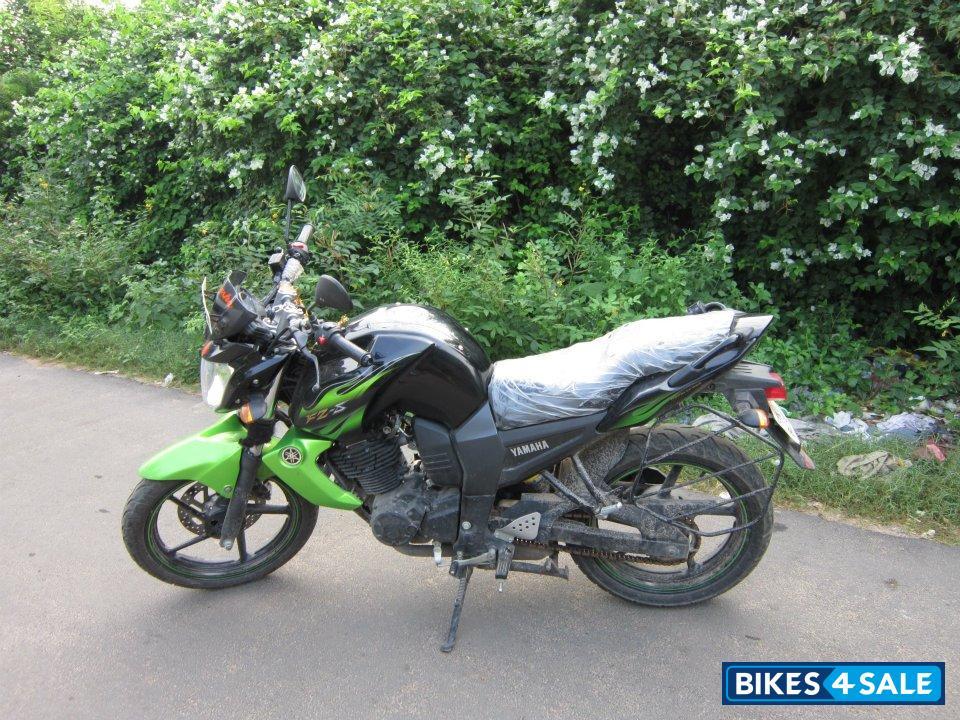 Yamaha fz Bike Green Green Yamaha fz s