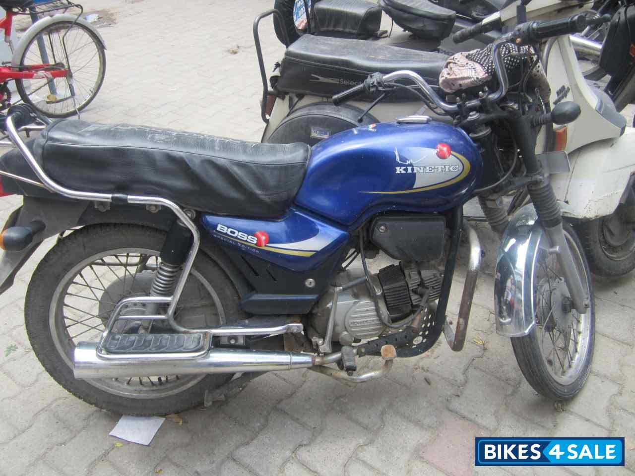 9f0d3f2ca73 Kinetic Boss 115 Picture 1. Bike ID 72291. Bike located in New Delhi ...