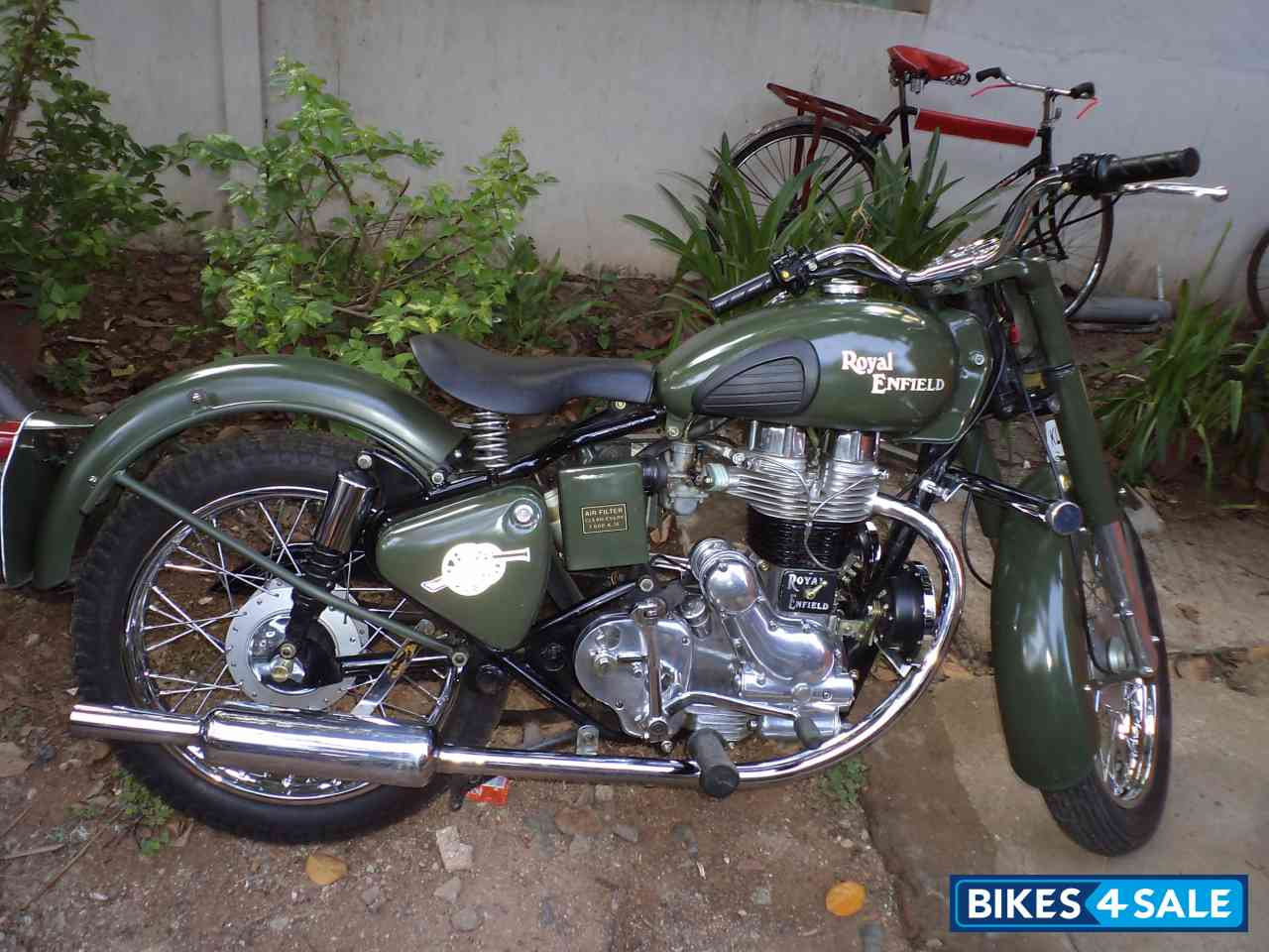 Second Hand Royal Enfield Bullet Standard 350 In