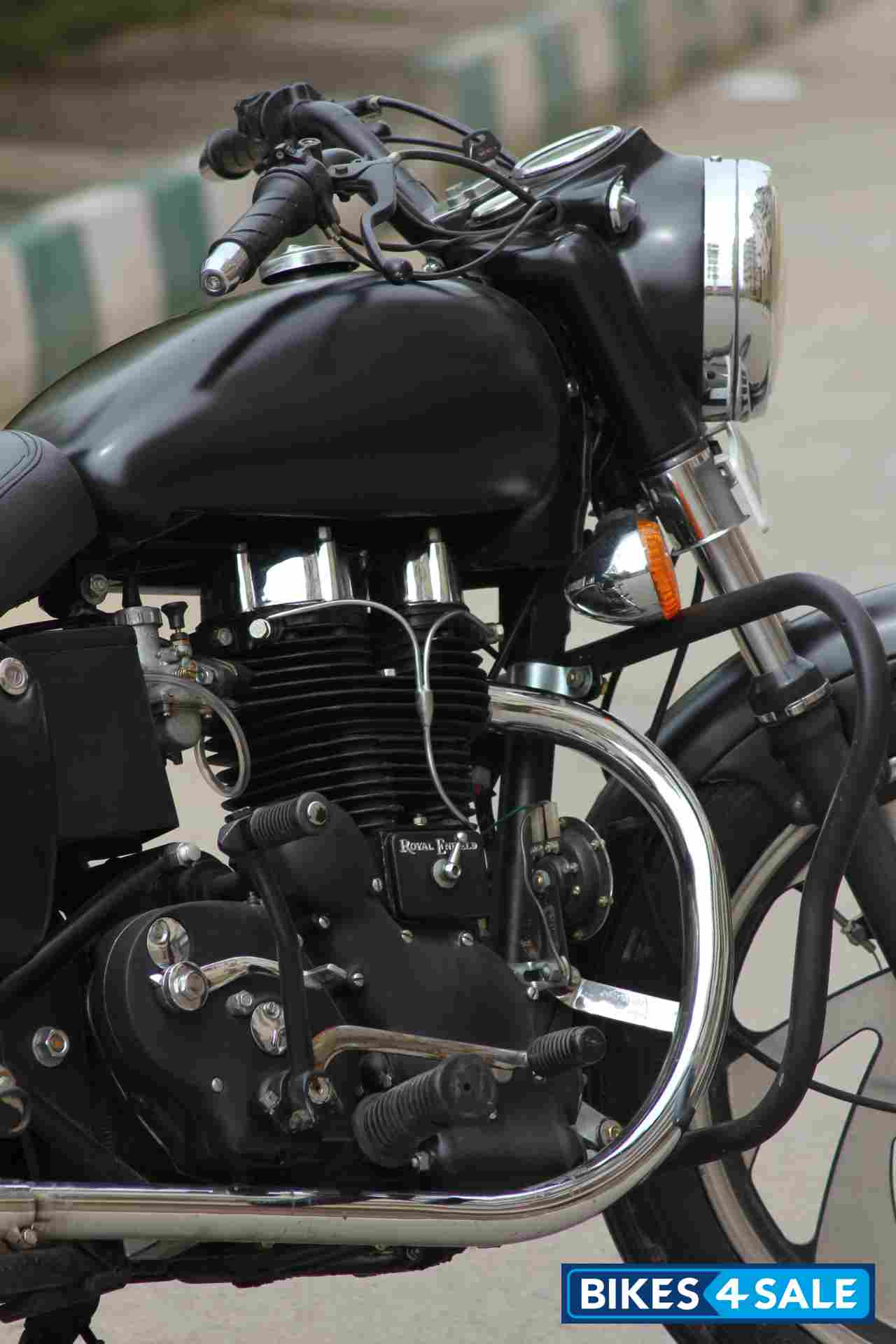 Used 1983 Model Royal Enfield Bullet Standard 350 For Sale In Trivandrum Id 79532 Matte Black Colour Bikes4sale