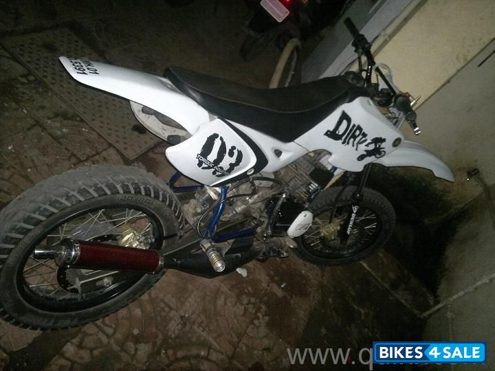 2020 Other   Images: Yamaha Rx 100 Modified Into Dirt Bike