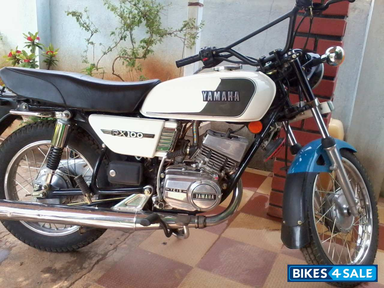 Second Hand Yamaha Rx 100 In Chickmagalur Fully Modified