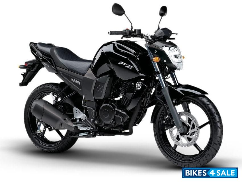 Black Yamaha FZ16 Picture 1  Album ID is 88869  Bike located in