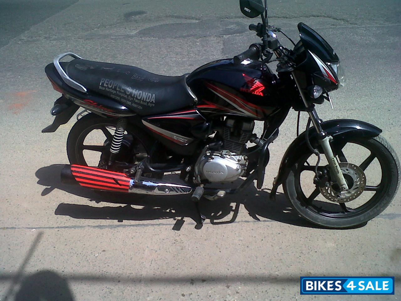 Black Honda Shine Picture 1 Album Id Is 89791 Bike