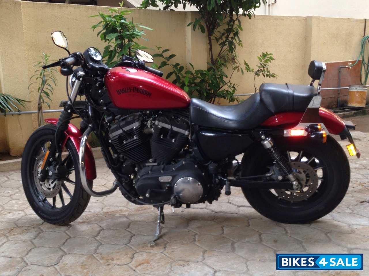 Harley Davidson Iron 883 Price in Kerala Red Harley Davidson Iron 883