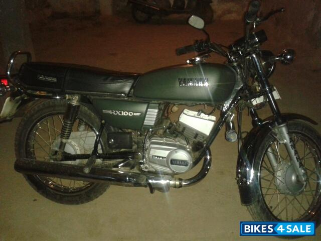 Military Green Yamaha Rx 100 Picture 1 Album Id Is 99816