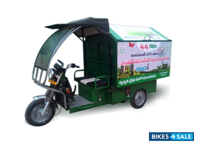 Bahuguna Electric Garbage Collector