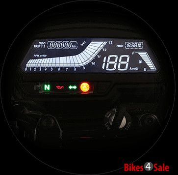 LCD instrument Console