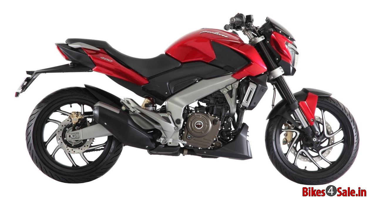 Electric Bikes For Sale >> Bajaj Pulsar 400 CS Motorcycle Picture Gallery. Red Colour - Bikes4Sale