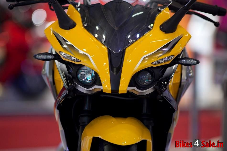Bajaj Pulsar 400 Ss Motorcycle Picture Gallery Front View