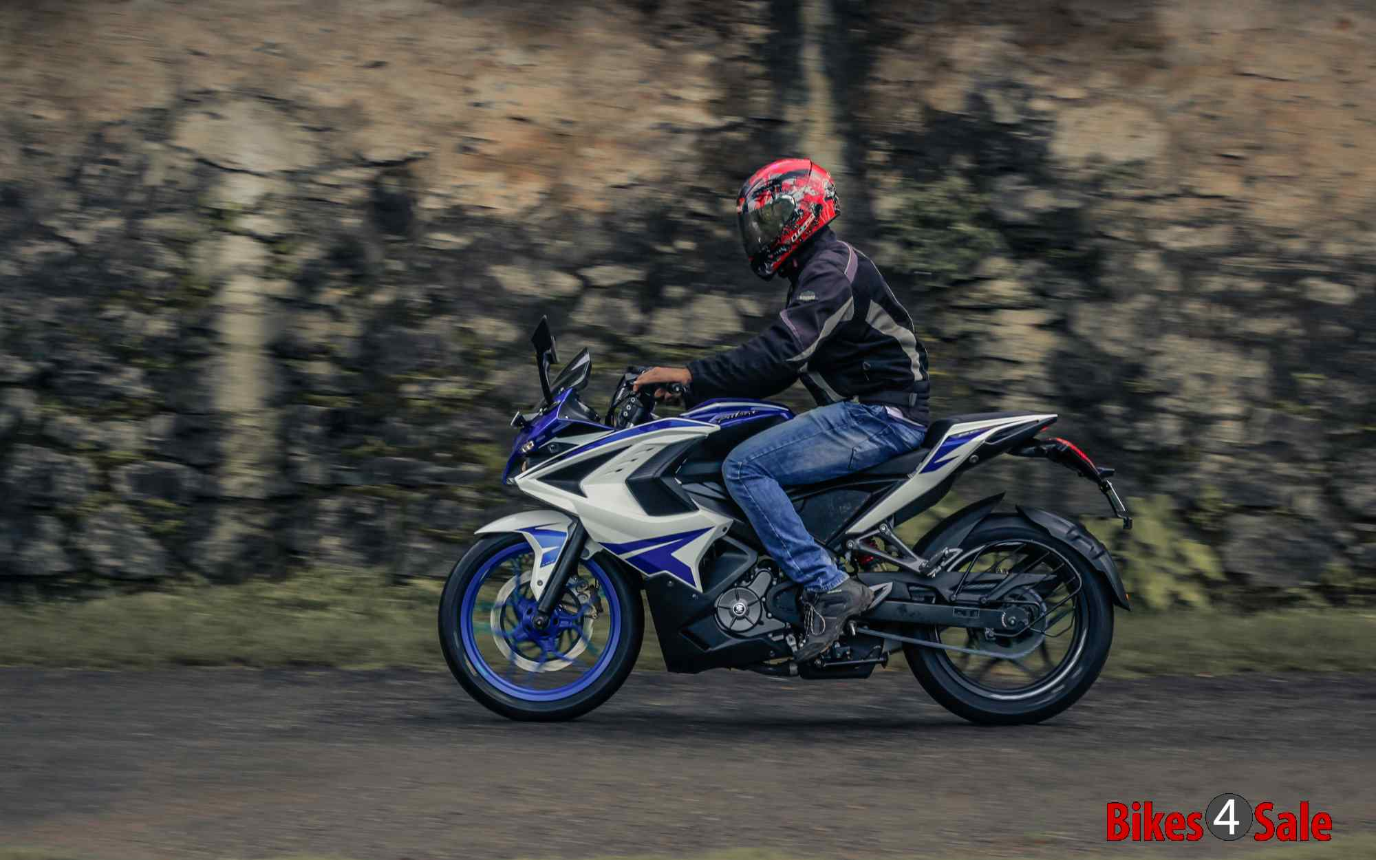 Bajaj Pulsar Rs 200 Racing Blue