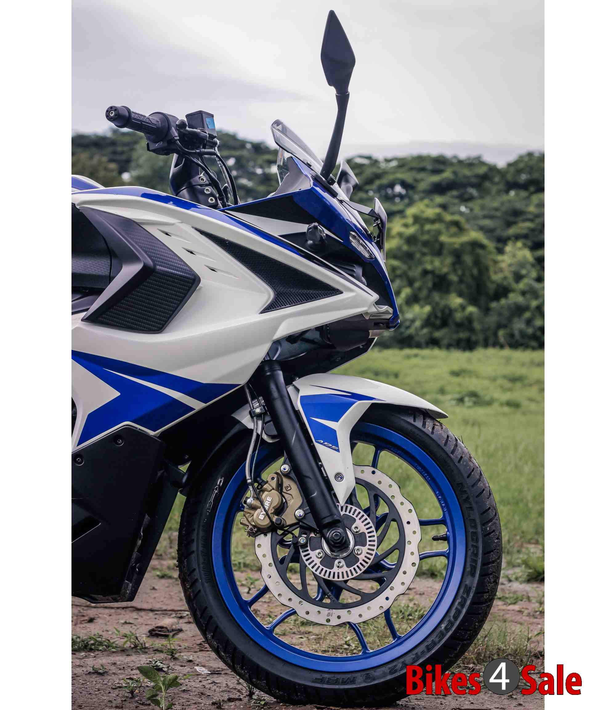 Bajaj Pulsar Rs 200 Front Fender and ABS