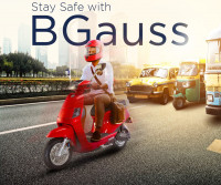 BGauss B8 Lead Acid