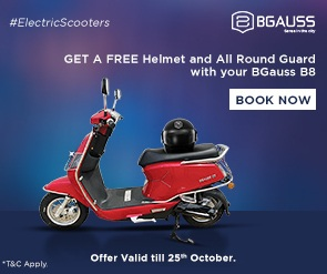 BGauss B8 Electric Scooter Offer