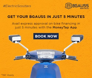 Bgauss B8 LI Technology Electric Scooter