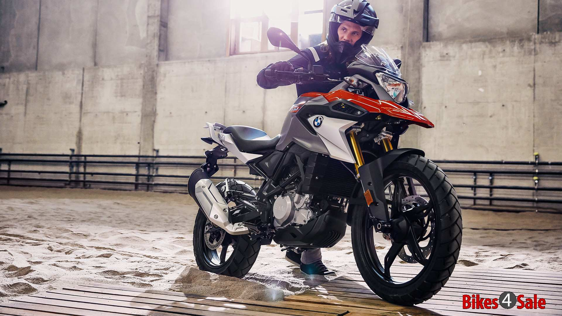 Bmw G 310 Gs Motorcycle Picture Gallery Adventure Bike Based On The