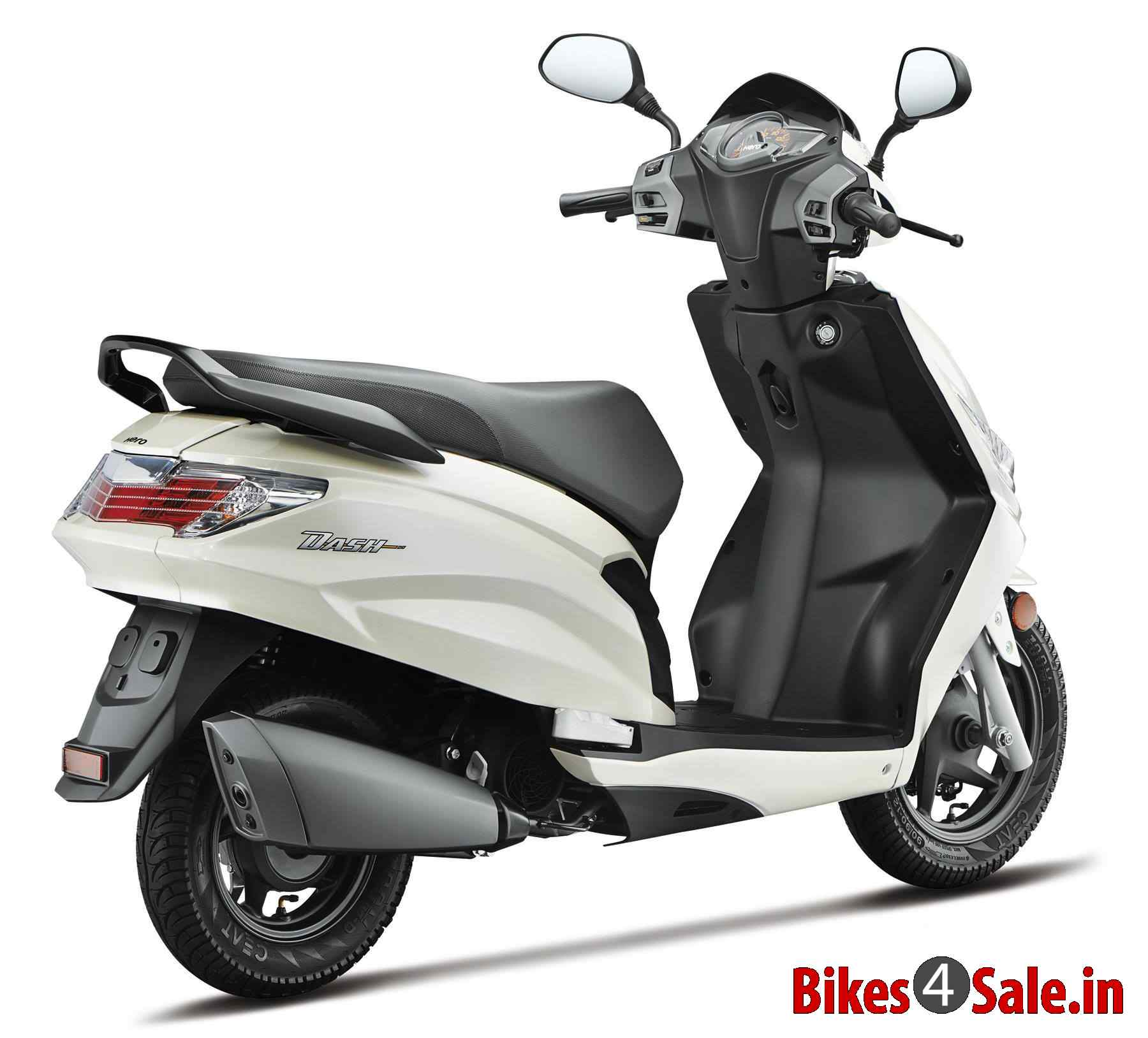 Electric Scooter With Seat >> Hero Dash price, specs, mileage, colours, photos and ...