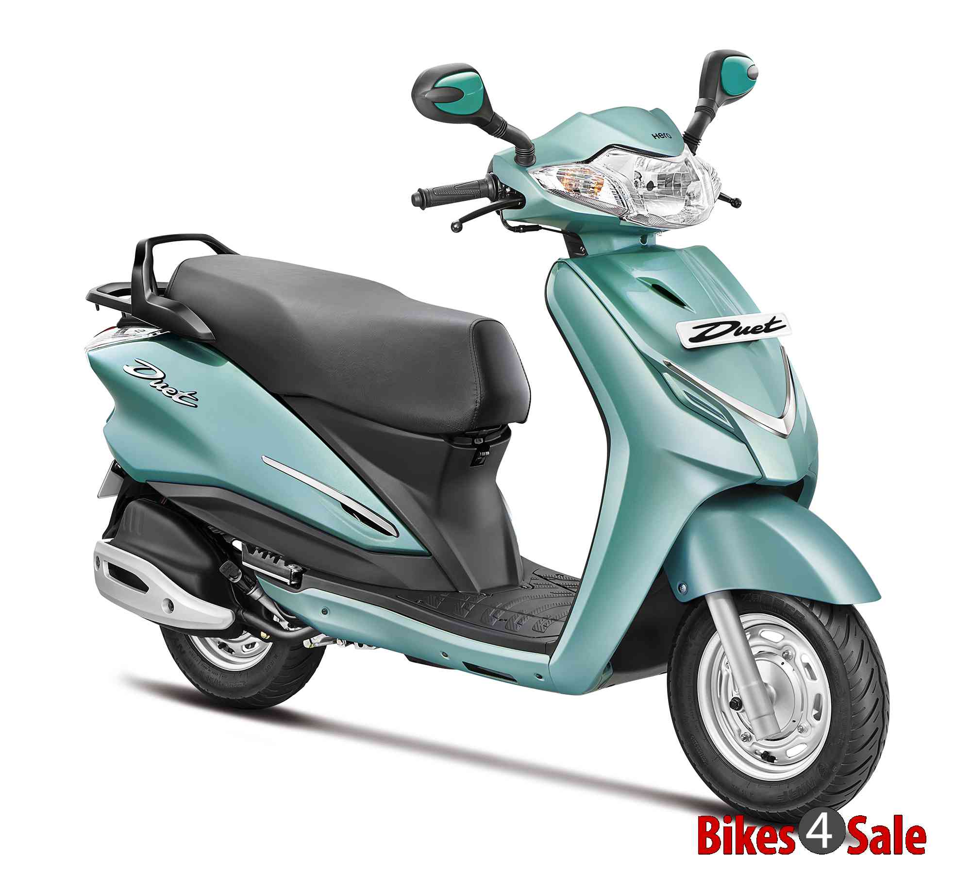 Vespa Scooter Green Colour