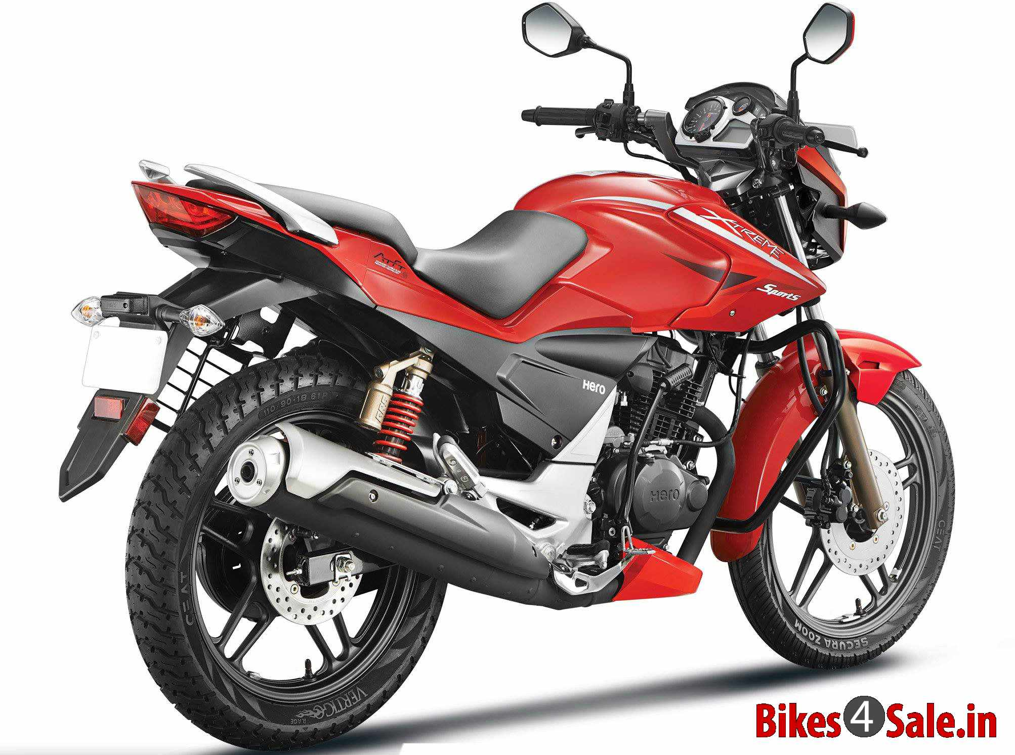 Hero Xtreme Sports rear quarter